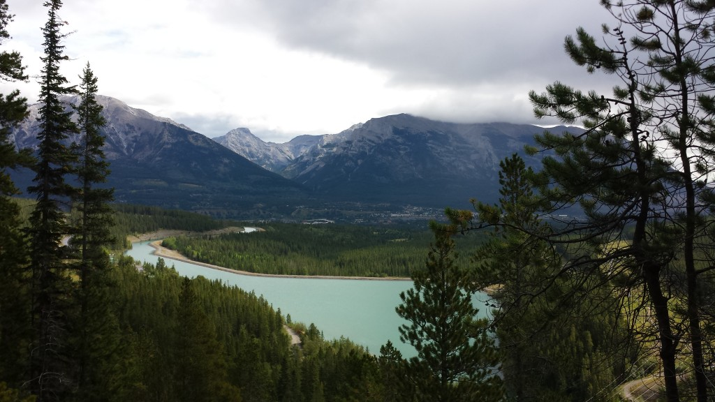 View from the Grassi Lakes - another great hike near Canmore.