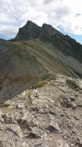 Ridge of Ha Ling Peak