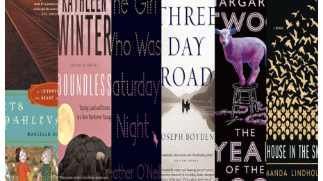 Covers of books recommended in the blog post. One has a sweet purple sheep on the cover.