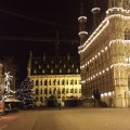 Grote Markt, Leuven during Christmas