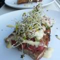 Steak Tartare Sandwich