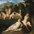Palma il Vecchio - de Badende Nymphenen Diana and Callisto