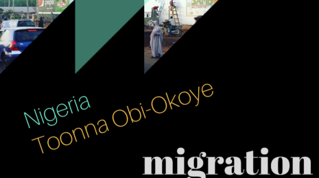 Migration Patterns logo for interview with Toonna Obi-Okoye