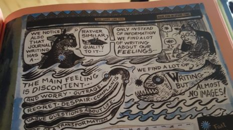 Lynda Barry on Journalling